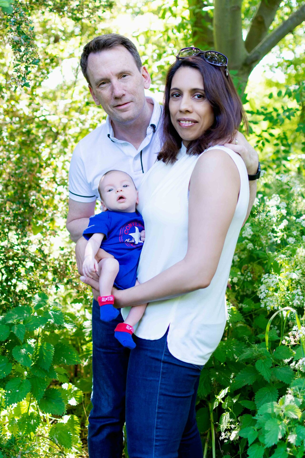 family photography at mudchute farm london