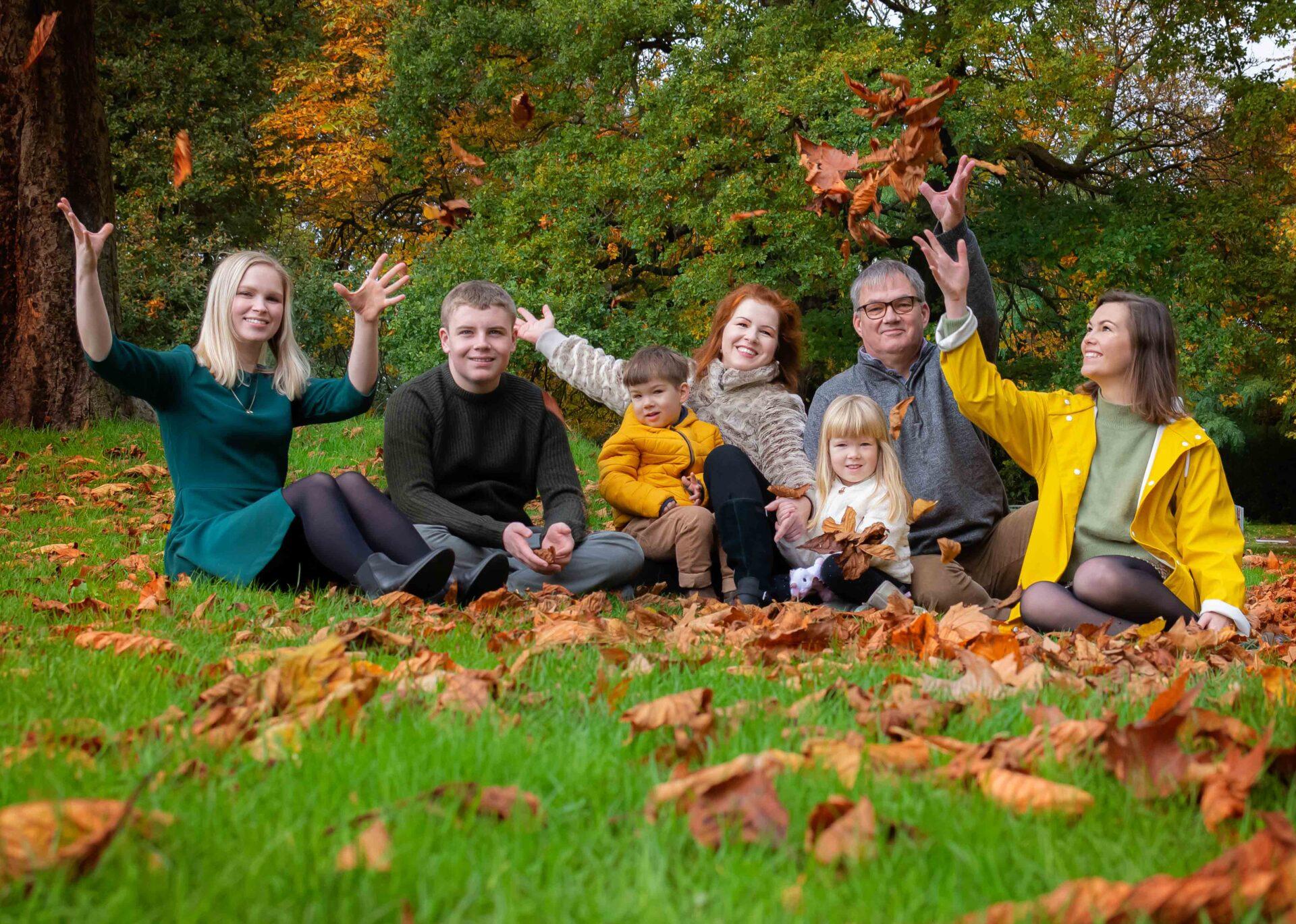 family photography at crystal palace park london