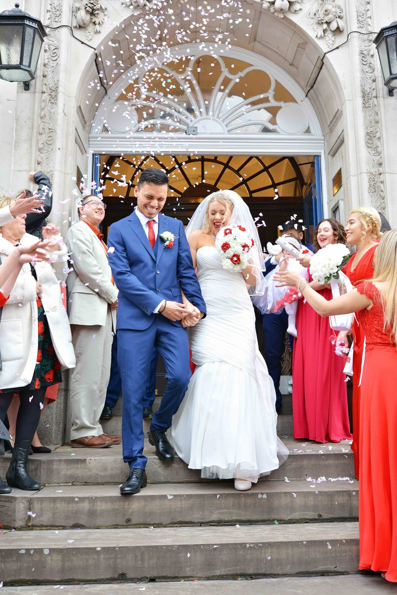 wedding photography at chelsea town hall london