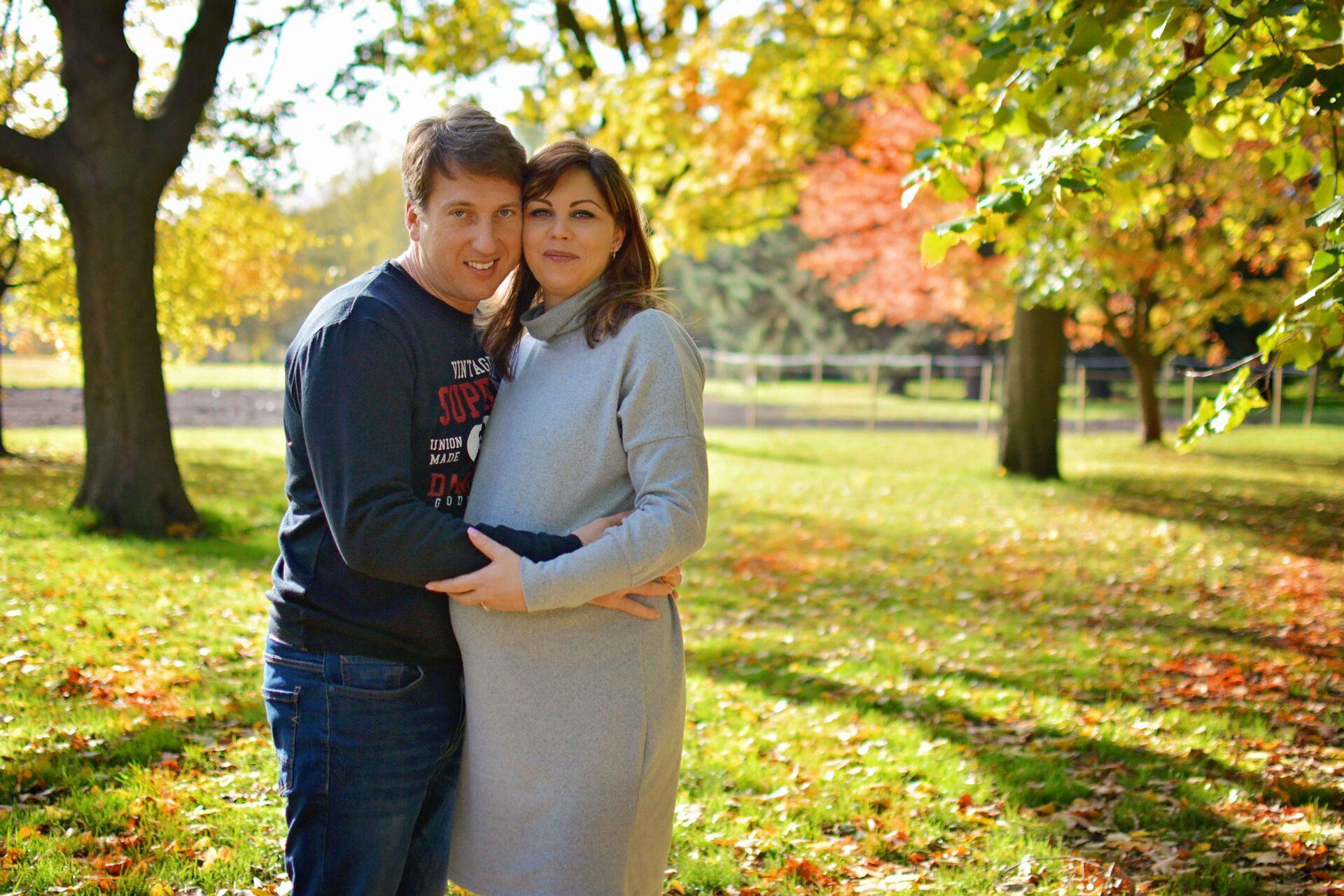 maternity photography at regents park london